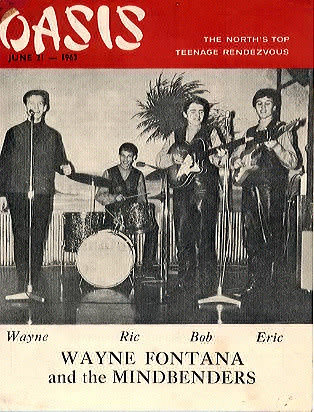 Wayne Fontana Tour Dates
